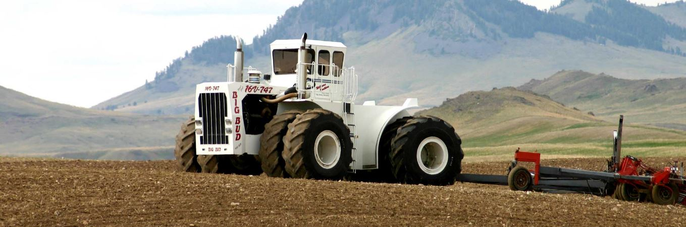 Big Bud Tractor : V big bud tractor price specification images video