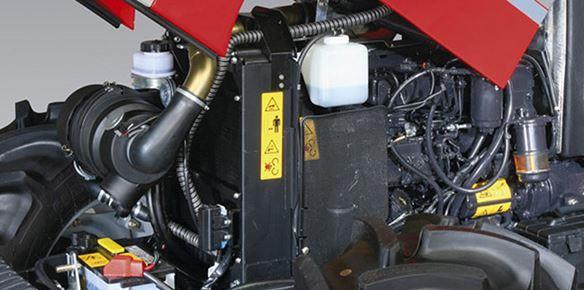 McCormick B-Max Tractor engine