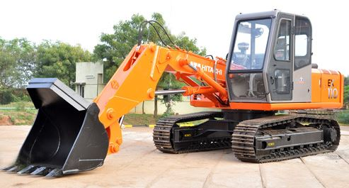 See Features: TATA Hitachi EX 110 Super Series Construction Machinery