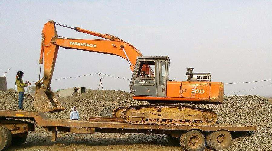 TATA Hitachi EX 200 LC Super Series Machinery specs