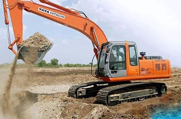 TATA Hitachi EX 210 LC Machinery price