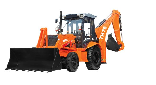 TATA Hitachi TH 76 Backhoe Loader 1