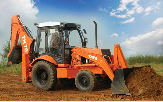 TATA Hitachi TH 76 Backhoe Loader features