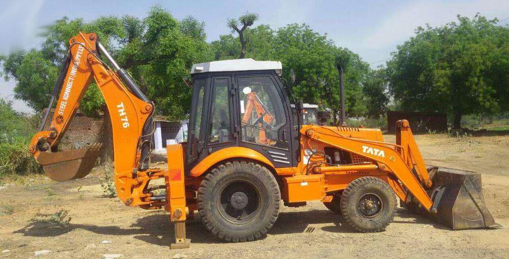 TATA Hitachi TH 76 Backhoe Loader specs