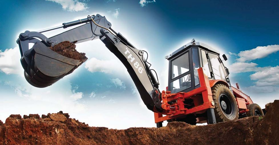 TATA Hitachi TH 86 Backhoe Loader 1