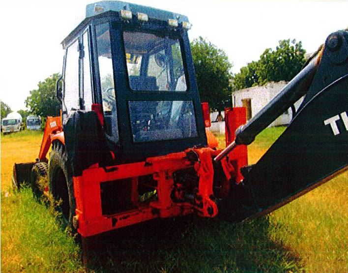 TATA Hitachi TH 86 Backhoe Loader 2