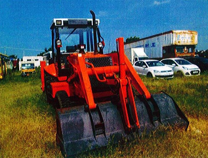 TATA Hitachi TH 86 Backhoe Loader specs