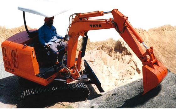 TATA Hitachi TMX20 Mini Excavators 1