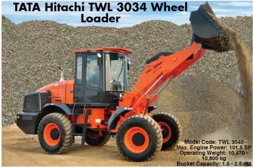 TATA Hitachi TWL 3034 Wheel Loader 4