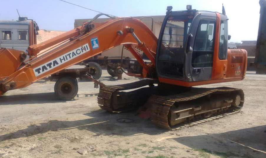 TATA Hitachi ZAXIS 120 H mechinery specs