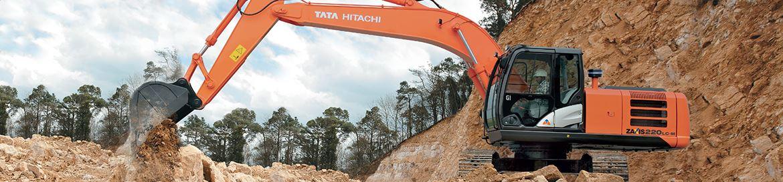 TATA Hitachi ZAXIS 220 LC Machinery specs