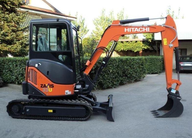 TATA Hitachi ZAXIS 33U Mini Excavator specs