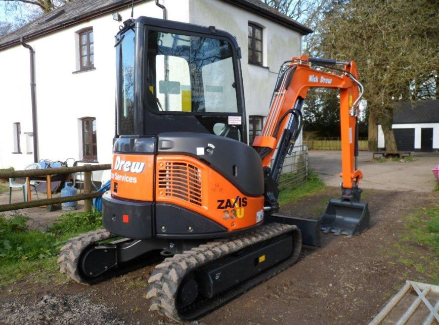 TATA Hitachi ZAXIS 33U Mini Excavator price