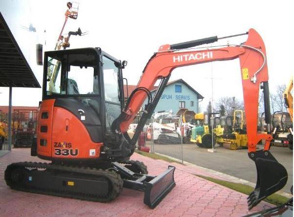 TATA Hitachi ZAXIS 33U Mini Excavator price