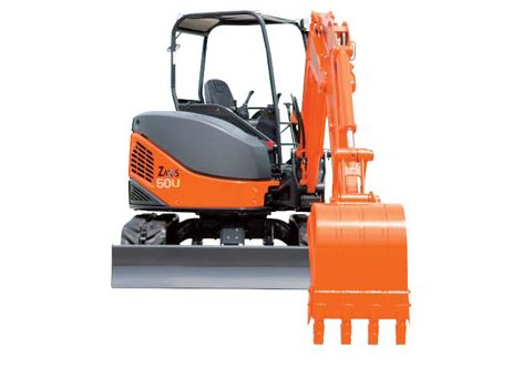 TATA Hitachi ZAXIS 50 Mini Excavator Construction Machinery 1