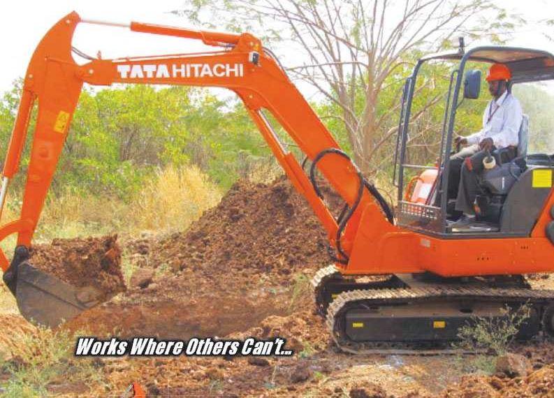 TATA Hitachi ZAXIS 50 Mini Excavator Construction Machinery specs