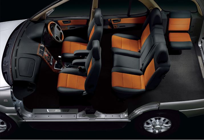 TATA Safari DICOR Car INTERIOR