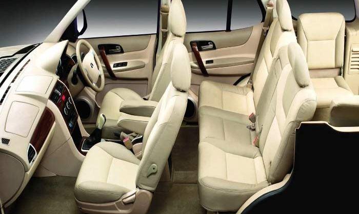 TATA Safari Storme car interior 2