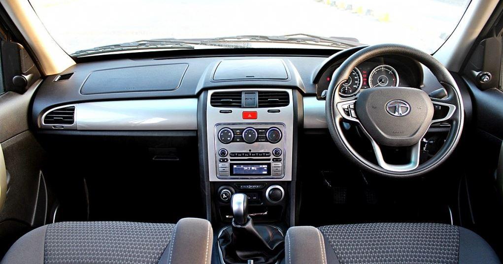 TATA Safari Strome car interior 1