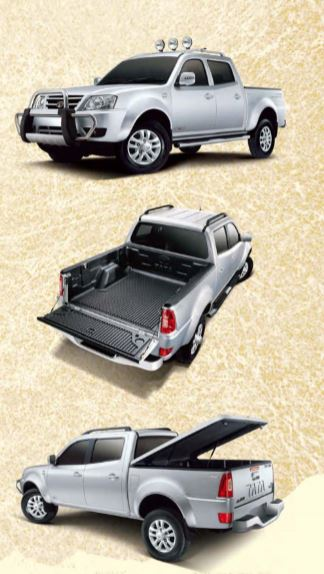 TATA XENON XT Pickup colors