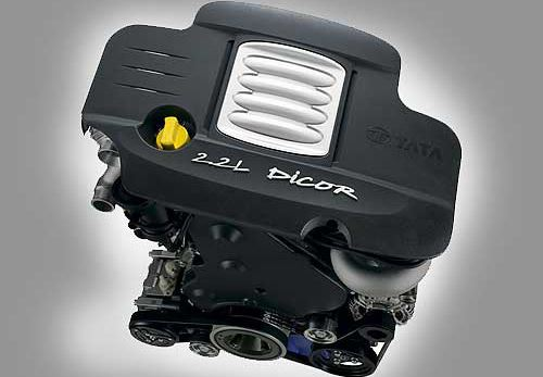 TATA XENON XT Pickup engine