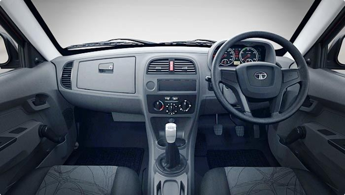 TATA XENON XT Pickup interior 1
