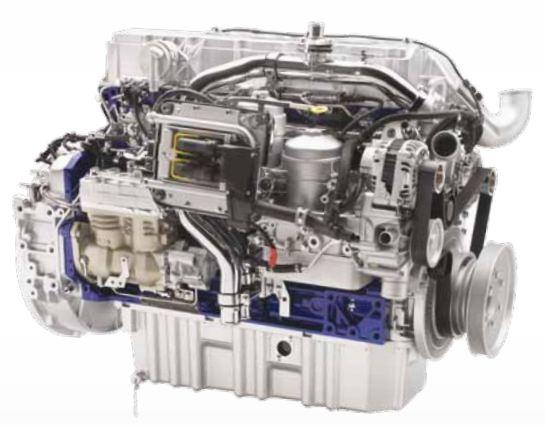 Volvo 8400 City Bus engine