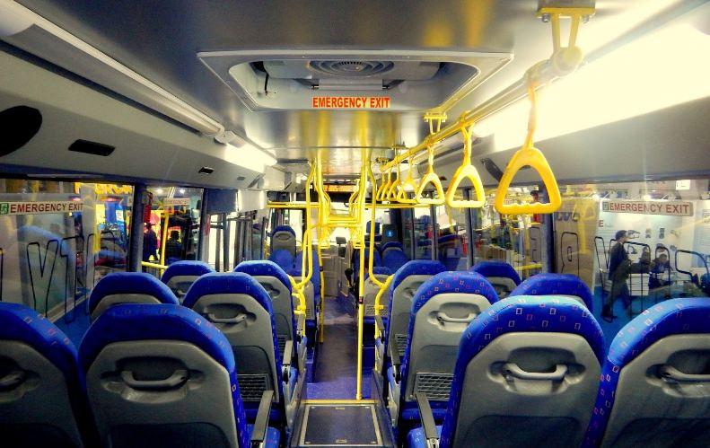 Volvo 8400 City Bus interior
