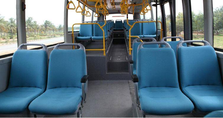 Volvo 8400 City Bus safety