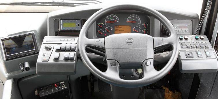 Volvo 8400 City Bus transmission