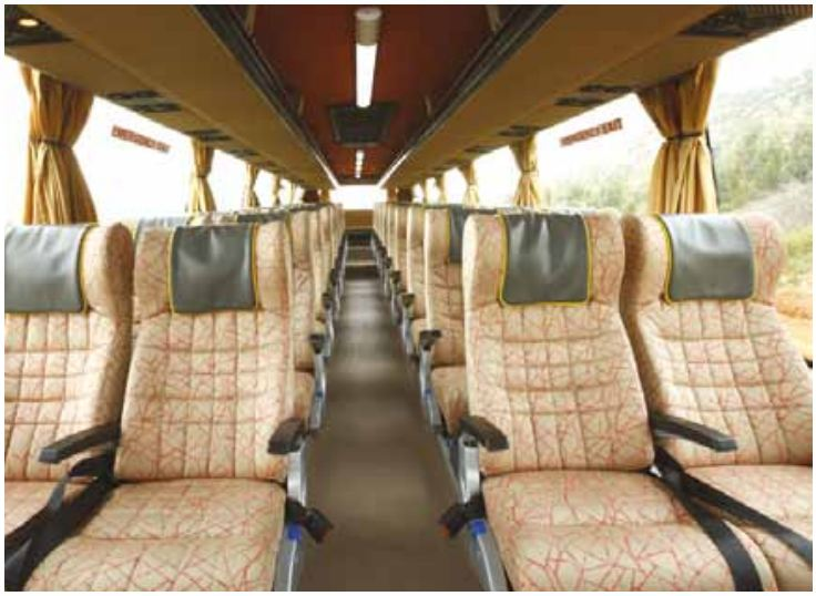 Volvo 9400 Intercity Coach bus comfort