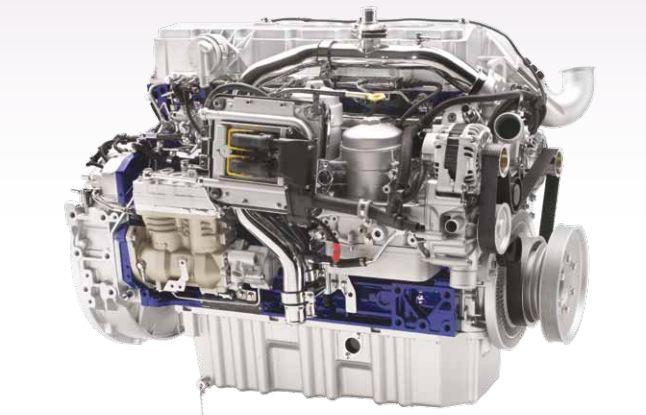 Volvo 9400 Intercity Coach bus engine