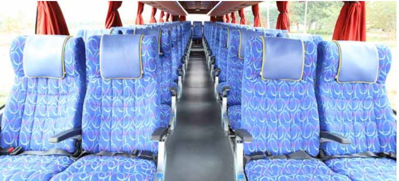 Volvo 9400XL Intercity Coach bus comfort