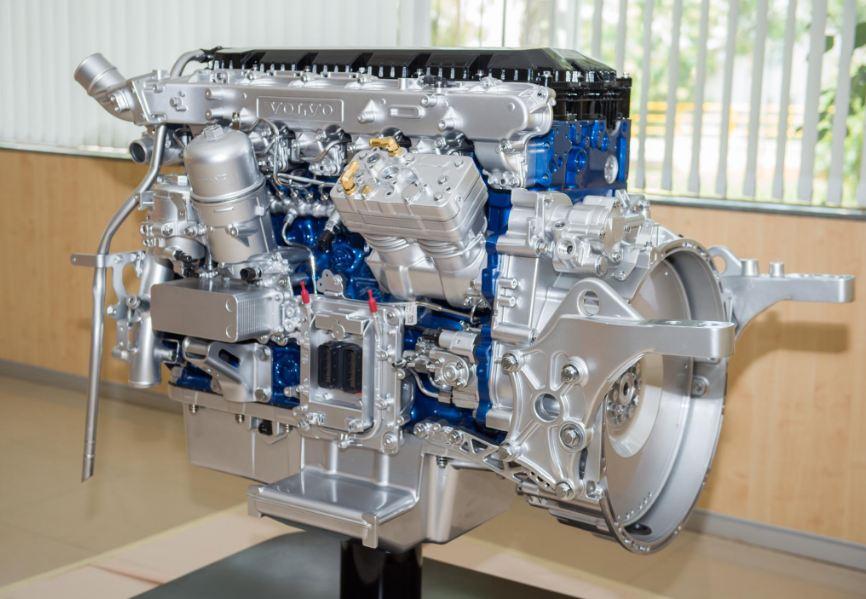 Volvo 9400XL Intercity Coach bus engine