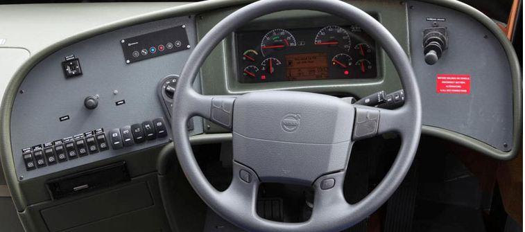 Volvo 9400XL Intercity Coach bus gearbox system