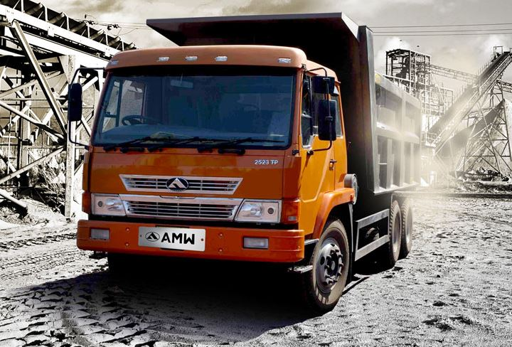 AMW 2523 TP Box Body Tipper