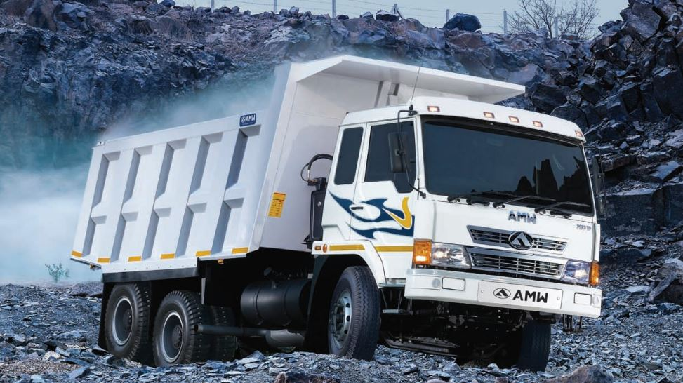 AMW 2523 TP Rock Body Tipper