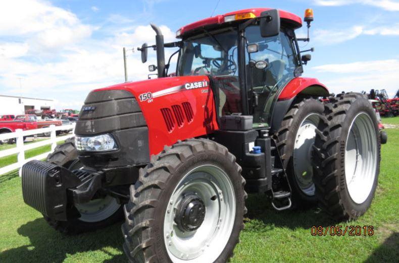CASE IH PUMA 150 CVT Tractor