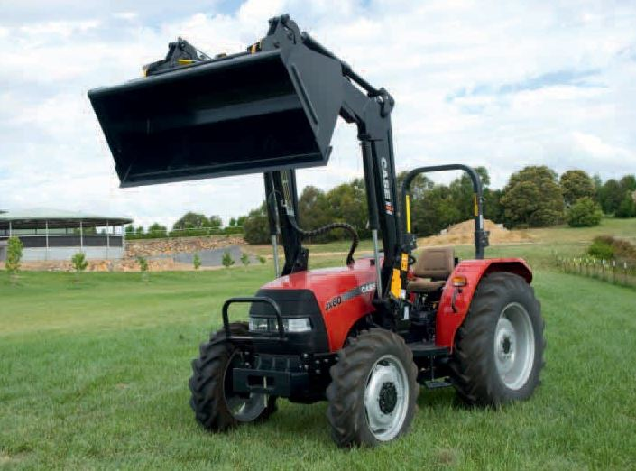 CASE IH Straddle JX 60 Tractor