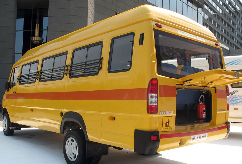 Force Traveller 26 School Bus safety
