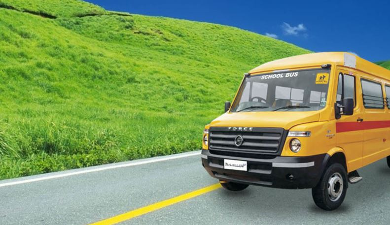 Force Traveller 26 School Bus price