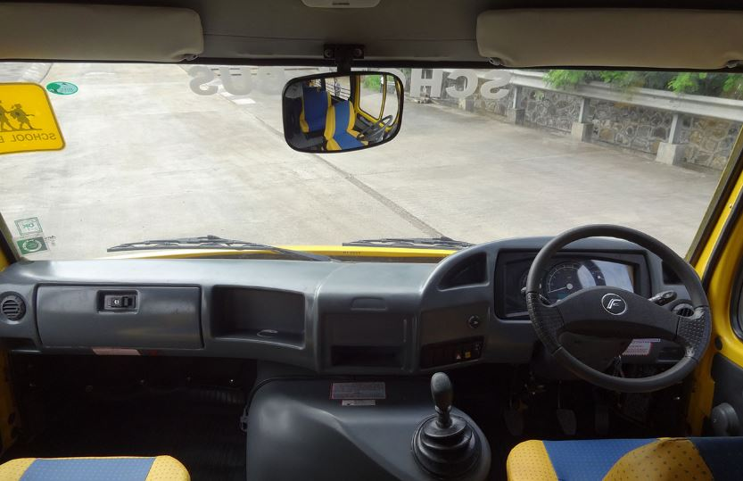Force Traveller 26 School Bus Interior