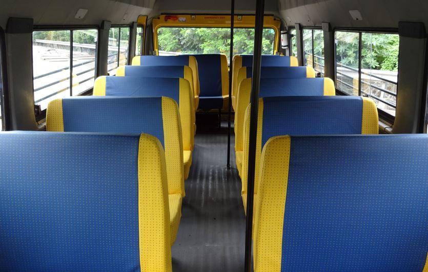Force Traveller 26 School Bus comfort