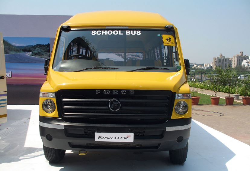 Force Traveller 26 School Bus specifications