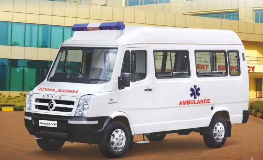 Force Traveller Ambulance 1
