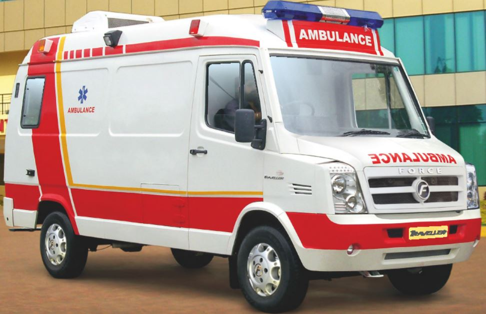 Force Traveller Ambulance specs