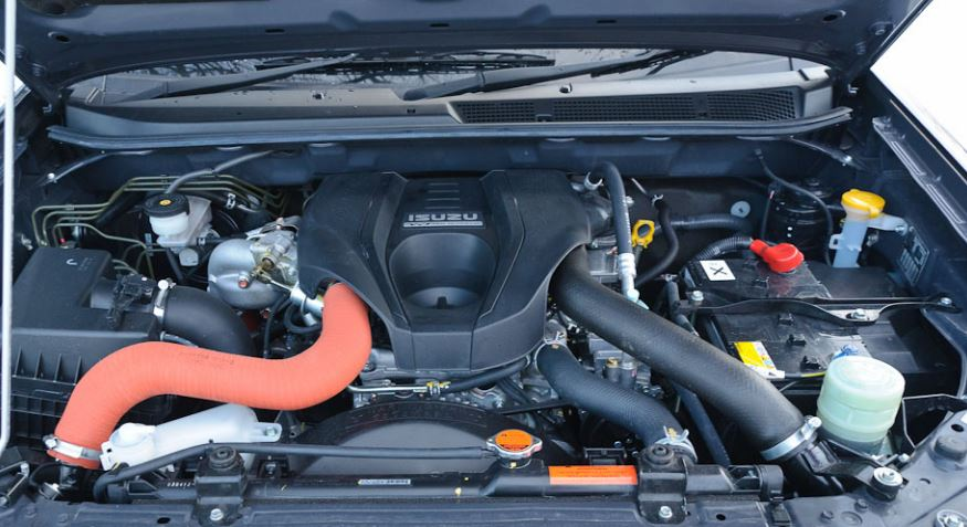 ISUZU D-MAX Pick up engine
