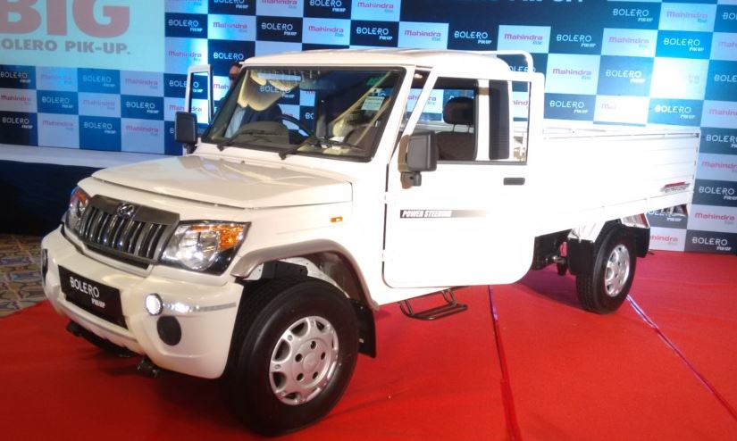 Mahindra Big Bolero Pick-Up price is india