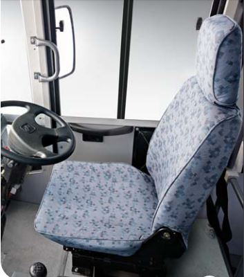 Mahindra Tourister COSMO Bus driver cabin