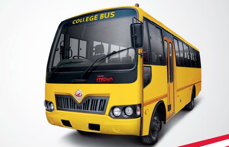 Mahindra Tourister COSMO College Bus design